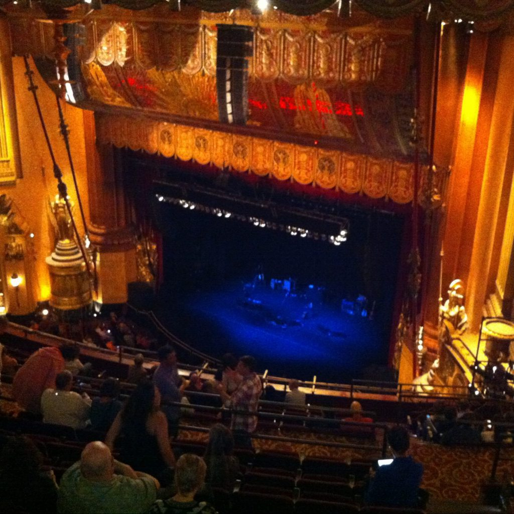 John Prince and Rosanne Cash at the Beacon Theatre